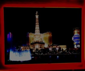 Eifelturm mit rgb Beleuchtung